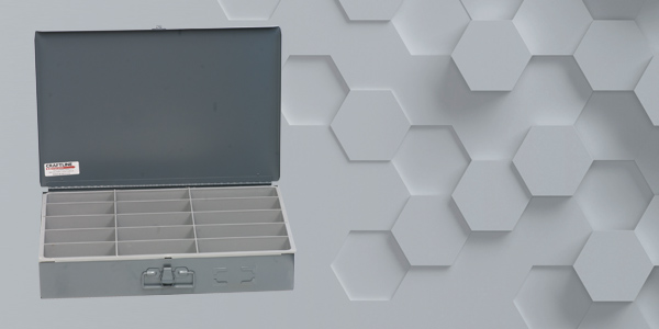 Craftline Storage Systems | Made In The USA | Compartment Boxes