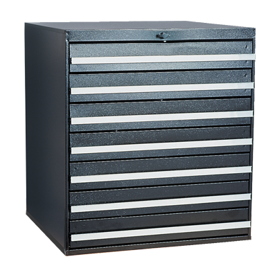 Craftline Storage System | Modular Drawer Cabinet | Knob Lock | Made In USA | PL-BBL-7