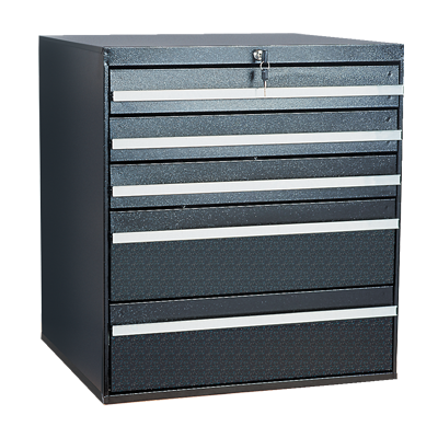 Craftline Storage System | Modular Drawer Cabinet | Key Lock | Made In USA | PL-BBL-5