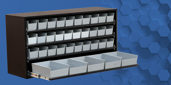 Craftline Storage Systems | Made In The USA | Bin Cabinet