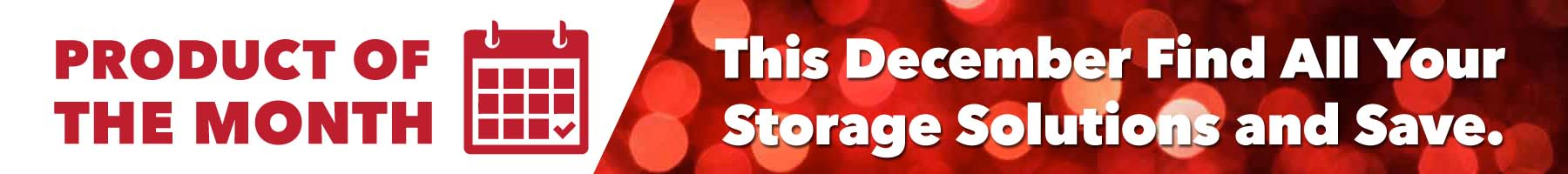 December Product Of The Month | Craftline Storage System