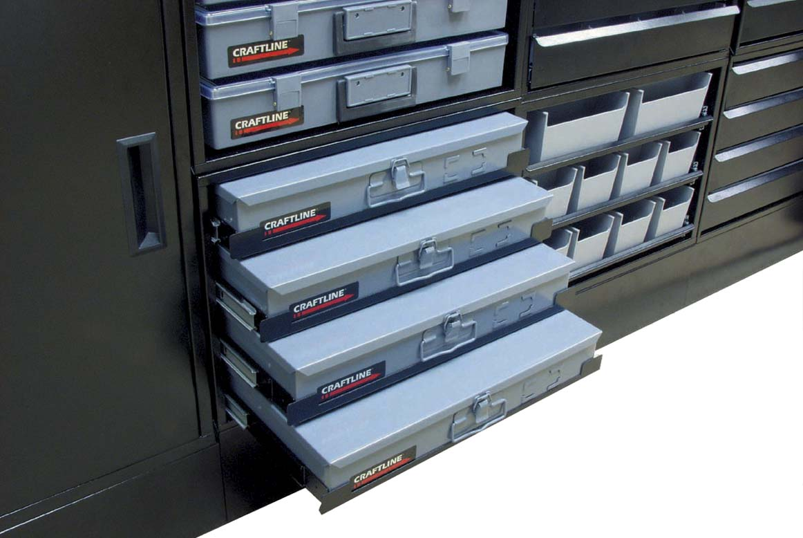 Craftline Storage System | Made In USA | PL-4DH-M Open