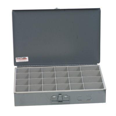 24 Compartment Box - PL-24 | Made In The USA