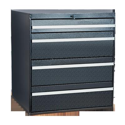 Craftline Storage System | Modular Drawer Cabinet | Knob Lock | Made In USA | PL-BBL-4