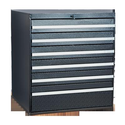 Craftline Storage System | Modular Drawer Cabinet | Knob Lock | Made In USA | PL-BBL-6