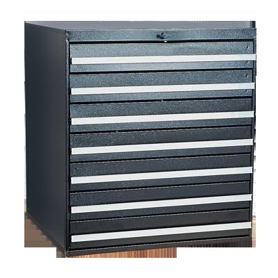 Craftline Storage System | Modular Drawer Cabinet | Knob Lock | Made In USA | PL-BBL-7