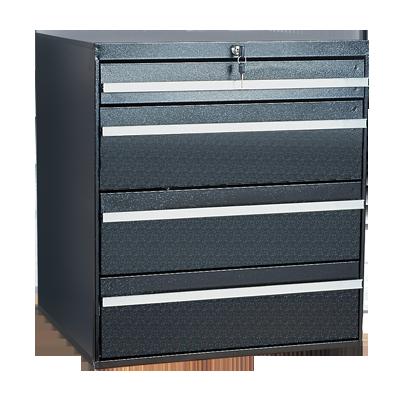 Craftline Storage System | Modular Drawer Cabinet | Key Lock | Made In USA | PL-BBL-4