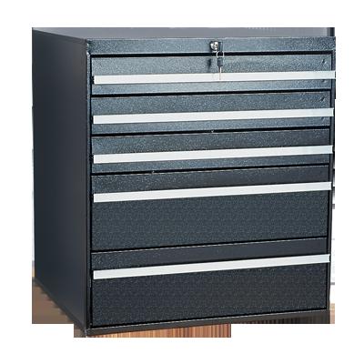 Craftline Storage System | Modular Drawer Cabinet | Key Lock | Made In USA | PL-BBL-5