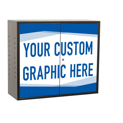 Craftline Storage System | Made In USA | Custom Vinyl Decal | PL-UC2R-L2