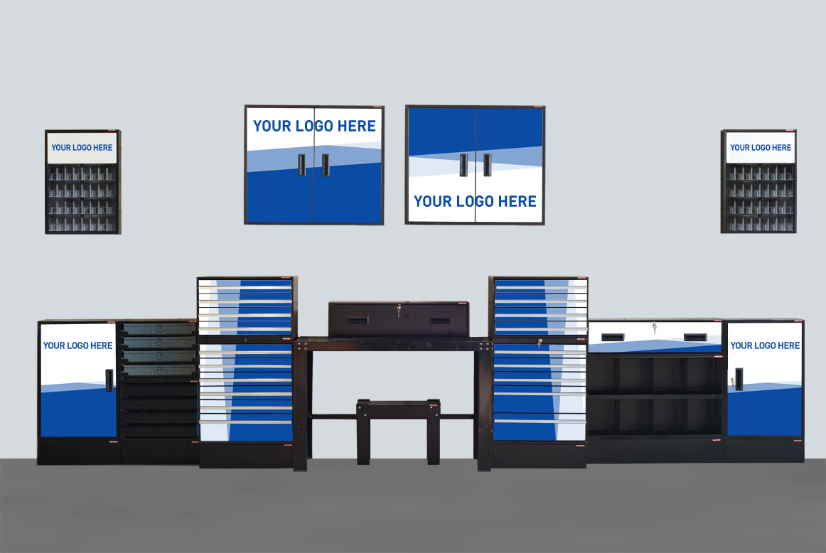 Craftline Storage Systems | Custom Graphics | Made In USA