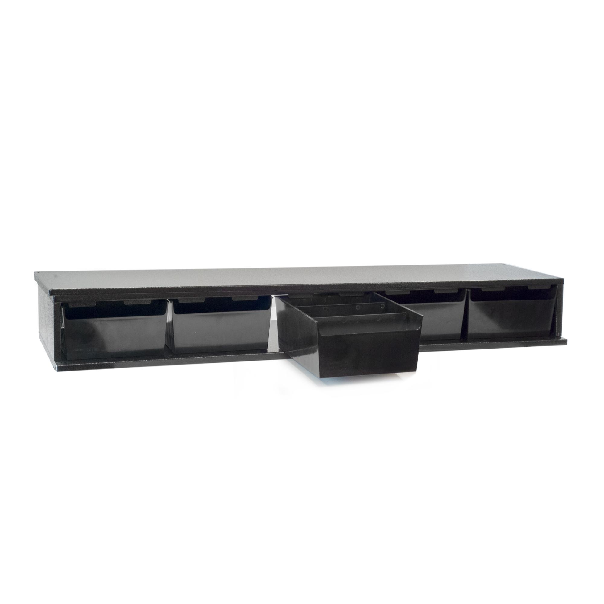 Craftline Storage System | Made In USA | Small Modular Stackable Bin Cabinet | PL-SM5BIN