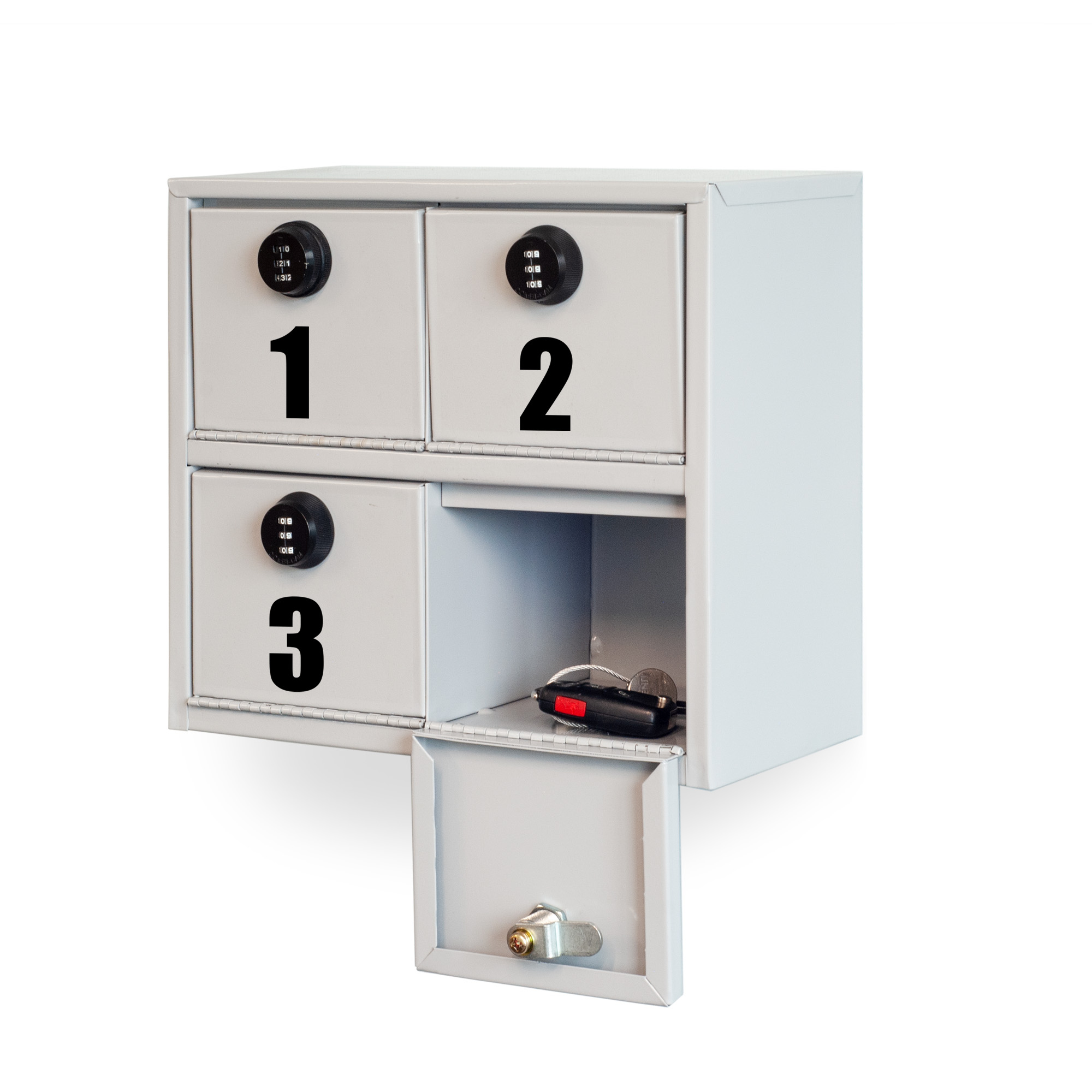 Four Compartment Pick-Up Box