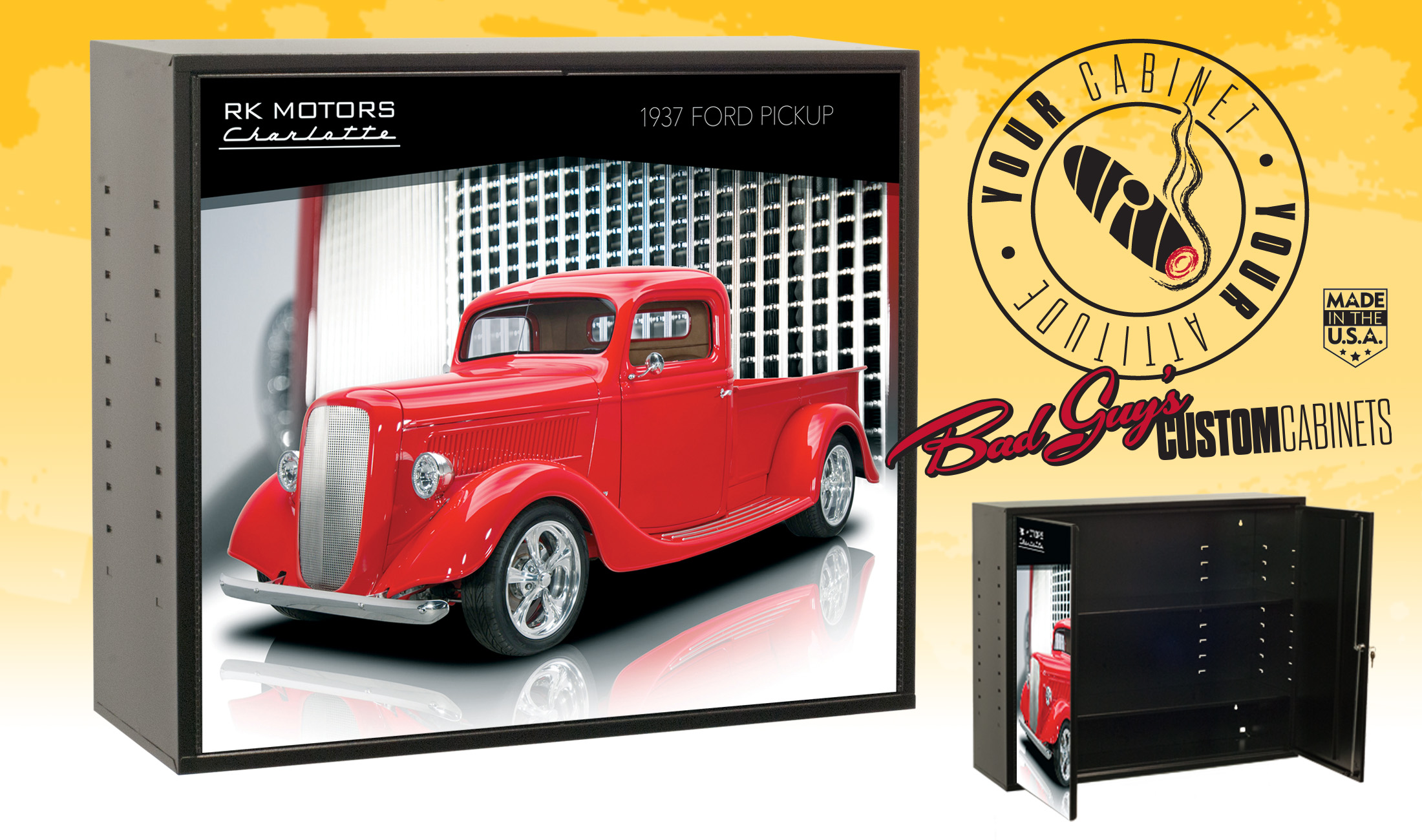 Bad Guys Custom Cabinets Ford-pick-up