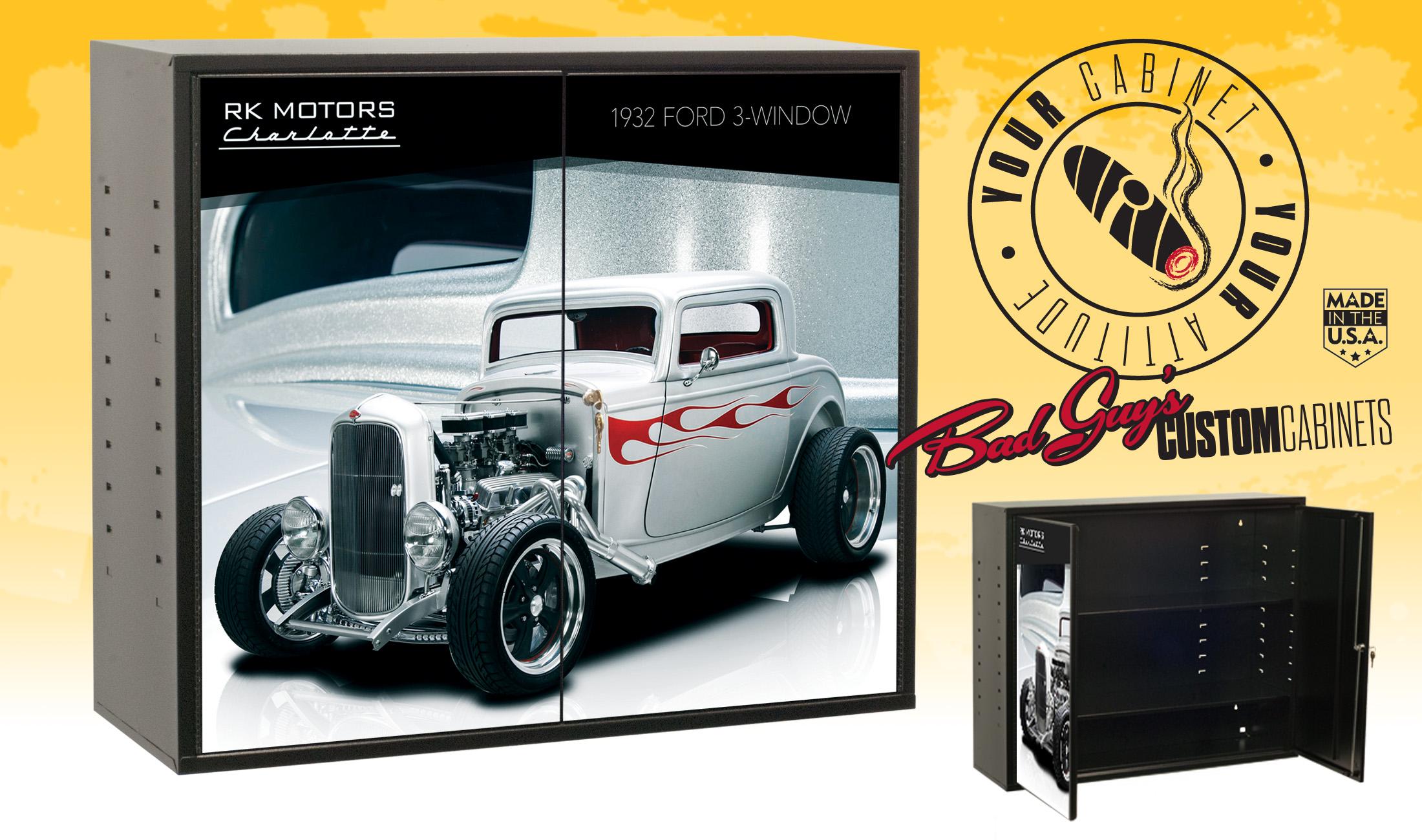 Bad Guys Custom Cabinets Ford-three-window