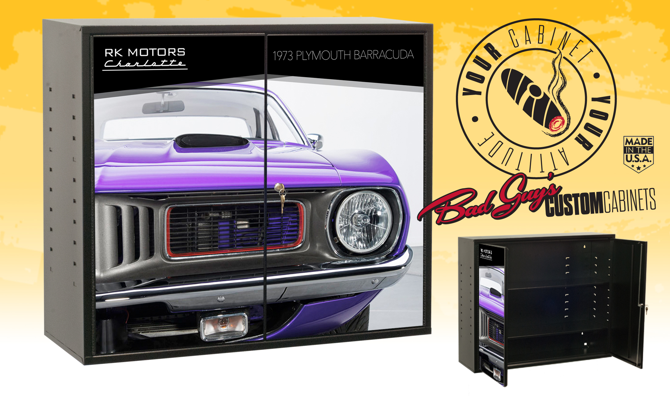 Bad Guys Custom Cabinets Plymouth Barracuda