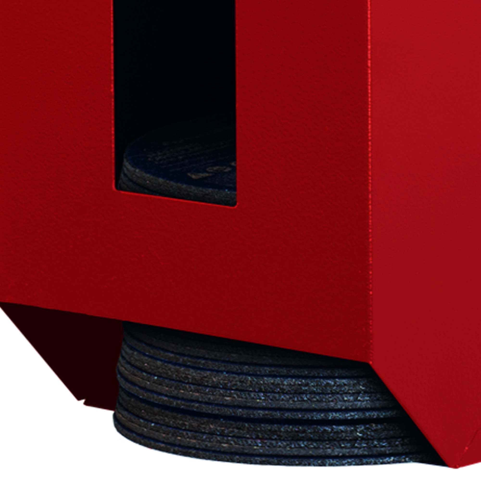 Craftline Storage System   Made In USA   PL-7DISC   7 Inch Grinder wheel dispenser